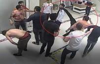 GÜZELYALı - Hastanede Doktorun Yüzüne Tekme Atma Anı Güvenlik Kamerasında