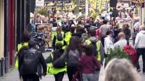 LAHEY - Hollanda'da Mültecilere Destek İçin 40 Kilometre Yürüdüler