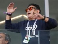 MARADONA - Maradona taraftarlardan özür diledi
