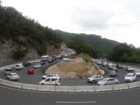 KıZıLAĞAÇ - Muğla'da Trafik Durma Noktasına Geldi