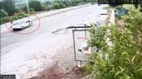 BÜLENT ECEVİT ÜNİVERSİTESİ - Otomobil Bisikletli Kadına Böyle Çarptı