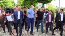 BAYRAM ZİYARETİ - Polislerden Bakan Soylu'ya Babalar Günü Sürprizi