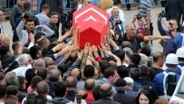 Şehit Yüzbaşı Erzurum'da Son Yolculuğuna Uğurlandı