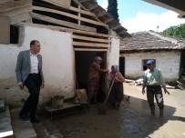 UĞUR AYDEMİR - Sel Felaketin Ardından Selendi'de Hasar Tespit Çalışmaları Başladı