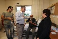 MEHMET NURİ ÇETİN - Varto Kaymakamı Çetin'den Hastalara Bayram Ziyareti