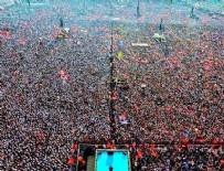 MİTİNG ALANI - Yenikapı mitingine katılan kişi sayısı açıklandı