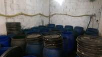 Adana'da 42 Bin 500 Litre Kaçak İçki Ele Geçirildi