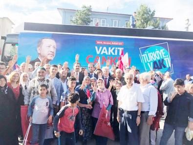 AK Parti Çankırı Teşkilatı'na Şabanözü'nde Büyük Coşku