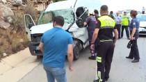ACıSU - Antalya'da Zincirleme Trafik Kazası Açıklaması 1 Ölü 6 Yaralı