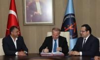 MUSTAFA ÜNAL - Antalya Teknokent Bilişim Vadisi İçin İlk İmza Atıldı.