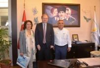 KUŞADASI BELEDİYESİ - Avrupa Birliği Türkiye Delegasyonundan Başkan Kayalı'ya Ziyaret