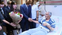 ŞEHİT BABASI - Bakan Sarıeroğlu, Kaza Geçiren Şehit Babasını Ziyaret Etti