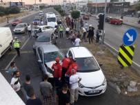 Balıkesir'de Zincirleme Trafik Kazası Açıklaması 9 Yaralı
