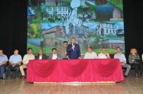 MEMUR SENDİKASI - Başkan Akkaya Belediye Personeliyle Bayramlaştı