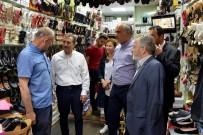 AHMET ATAÇ - Başkan Ataç, Sivrihisar'da Esnaf Ziyareti Gerçekleştirdi