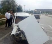Bayram Dönüşü Otomobil Takla Attı Açıklaması 5 Yaralı