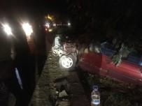 Bayram Ziyareti Dönüşünde Kaza Açıklaması 3 Yaralı