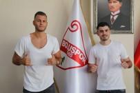 GURBETÇI - Boluspor, 2 Oyuncuya Daha İmza Attırdı