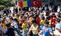 BERKİN ELVAN - Çankayalı Minikler, Romanya Büyükelçisine Konuk Oldu