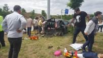 EBRAR - Çorum'da Trafik Kazası Açıklaması 9 Yaralı