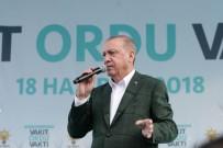 TARıM - Cumhurbaşkanı Erdoğan Açıklaması 'Fındık Üreticisini Mağdur Etmeyeceğiz'
