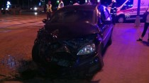 CENGIZ TOPEL - Kocaeli'de Trafik Kazası Açıklaması 2 Yaralı
