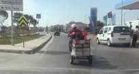 Motosiklet Kasasında Yolculuk
