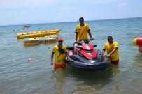 BOĞULMA VAKASI - Sarımsaklı Plajlarında Vatandaşların Can Güvenliği İtfaiyeye Emanet