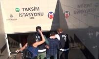 GÜVEN TİMLERİ - Taksim Metrosunda Tacizcisine Tokat Attı