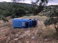Tarsus'ta Jandarma Aracı Devrildi Açıklaması 1 Yaralı