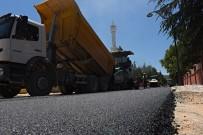OSMAN GAZI - Turhal'da Asfalt Çalışmaları Devam Ediyor