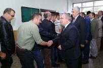 MUSA YıLMAZ - Vali Nayir Ve Başkan Yılmaz, İl Özel İdaresi Personeliyle Bayramlaştı
