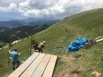 ZIGANA - Zigana Dağı'na Çığ Kontrol Tesisi Yapılıyor