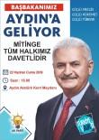 AK Parti İl Başkanı Özmen Aydınlıları Mitinge Davet Etti