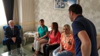 MILLIYETÇI HAREKET PARTISI - Bahçeli'den Kazada Yaralanan İYİ Partili Başkana Ziyaret