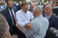 VEYSEL EROĞLU - Bakan Veysel Eroğlu, Dinar İlçesinde Çarşı Esnafını Ziyaret Etti