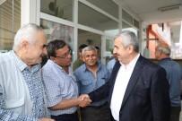 İLYAS ŞEKER - Başkan Baran Seçim Çalışmalarına Devam Ediyor