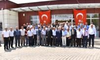 HÜSEYİN ŞAHİN - Başkan Kayda Ve MHP'li Akçay Muhtarlarla Buluştu