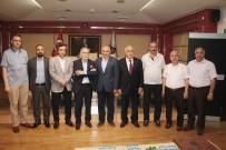 İlyas Çelebi Ve Hamza Cebeci DTSO'yu Ziyaret Etti