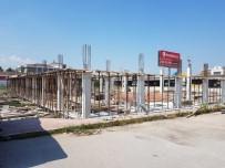 ŞEHİRLERARASI OTOBÜS - İtfaiye Terminal Müfrezesi Yeni Binası Yapımı Sürüyor