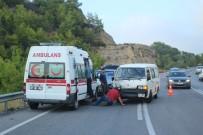 ZİNCİRLEME KAZA - Manavgat-Akseki Yolunda Zincirleme Kaza