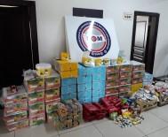 ELEKTRONİK SİGARA - Mersin'de 560 Kilo Kaçak Nargile Tütünü Ele Geçirildi