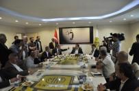 Mehmet Yiğiner - MHP Heyetinden Ankaragücü'ne Anlamlı Ziyaret
