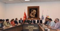 TICARET VE SANAYI ODASı - MHP Milletvekili Adaylarından ITSO'ya Seçim Ziyareti