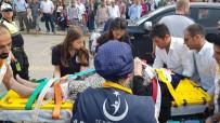 BALIK PAZARI - Otomobilin Çarptığı Yaşlı Kadın Yaralandı