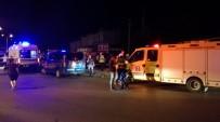 Söke'de Yolcu Otobüsü Devrildi Açıklaması 28 Yaralı