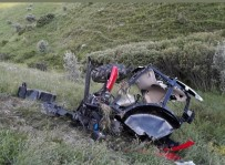 Traktör Uçuruma Yuvarlandı Açıklaması 1 Yaralı