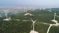 RÜZGAR ENERJİSİ - Türkiye'nin ' Enerji Gülleri ' Havadan Görüntülendi