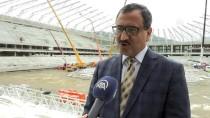 TOPLU KONUT - Adını Fındıktan Alan 'Çotanak Stadı' Yıl Sonu Tamamlanacak