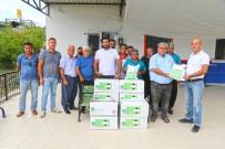 FELAKET - Afetzede Çiftçiye İlaç Yardımı